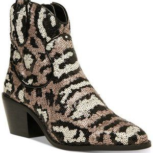 Betsey Johnson Booties Lucki Western Country Glam